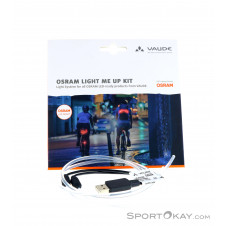 Vaude Osram Light Me Up Kit Zubehör-Weiss-One Size
