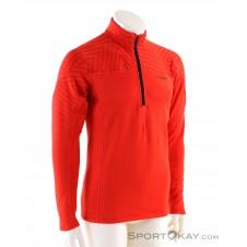 adidas Terrex Icesky LS Herren Shirt-Rot-46