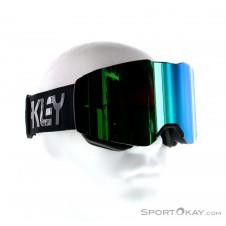 Oakley Fall Line Retro Prizm Skibrille-Schwarz-One Size
