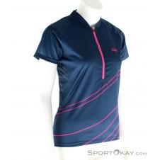 IXS Trail 6.2 Lady Jersey Damen Bikeshirt-Pink-Rosa-XS