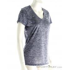 Under Armour Tech SSV Twist Damen Fitnessshirt-Grau-L