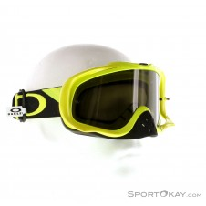 Oakley MX Crowbar MX Heritage Racer Green Downhillbrille-Grün-One Size