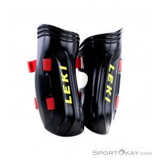 Leki Shin Guards Worldcup Pro Kinder Schienbeinprotektoren-Schwarz-One Size
