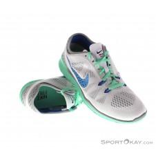 Nike Free TR 5 Breathe Damen Fitnessschuhe-Weiss-6,5