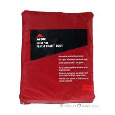 MSR Hubba NX Fast&Light Body Zelt Zubehör-Rot-One Size