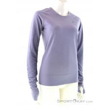 Asics Seamless LS Texture Damen Shirt-Lila-36
