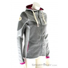 Chillaz Rock Jacket Damen Freizeitsweater-Grau-36