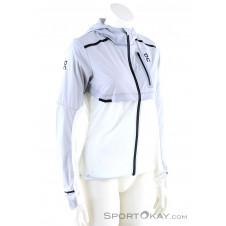 On Weather-Jacket Damen Laufjacke-Grau-M