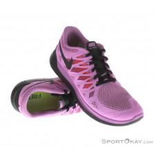 Nike Free 5.0 Damen Laufschuhe-Lila-6,5