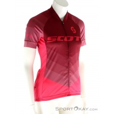 Scott RC Pro s/sl Damen Bikeshirt-Pink-Rosa-XS