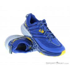Hoka One One Speedgoat 3 Damen Traillaufschuhe-Blau-7,5