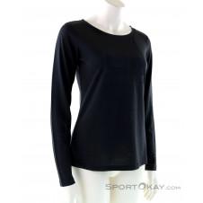 Super Natural Essential I.D. LS Damen Shirt-Schwarz-XS