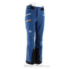 Ortovox Bacun Pants Herren Tourenhose-Blau-S