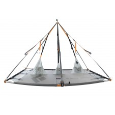 Black Diamond Cliff Cabana Double Portaledge-Grau-One Size