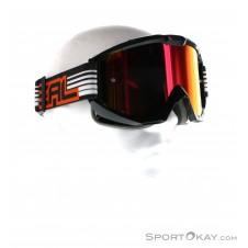 Oneal B1 RL Flat Radium Goggle Downhillbrille-Schwarz-One Size