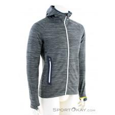 Ortovox Fleece Light Melange Hoody Herren Sweater-Grau-M