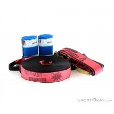 Elephant Slacklines Addict Flash Line 25m Slackline-Pink-Rosa-One Size