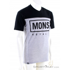 Mons Royale Redwood Enduro VT Herren T-Shirt-Schwarz-S