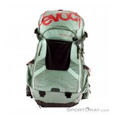 Evoc FR Trail Team 20l Rucksack mit Protektor-Oliv-Dunkelgrün-S