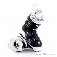 Salomon X Pro Sport 90 Damen Skischuhe-Schwarz-26,5