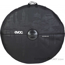Evoc MTB Two Wheel Cover Laufradtasche-Schwarz-One Size