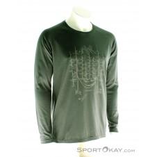 Maloja Bordeaux LS Herren T-Shirt-Grau-M