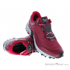 Salewa Speed Beat GTX Damen Traillaufschuhe Gore-Tex-Rot-7