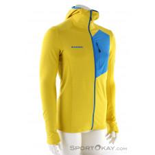 Mammut Aconcagua Light Hooded Jacket Herren Sweater-Gelb-S