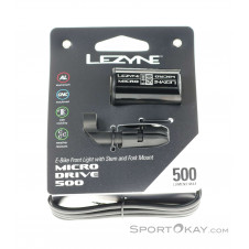Lezyne Micro 500 Frontleuchte-Schwarz-One Size