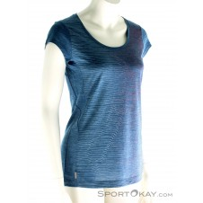 Icebreaker Sphere SS Scoop Damen T-Shirt-Blau-S