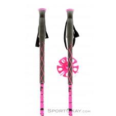 Leki Pink Bird Damen Skistöcke-Pink-Rosa-110