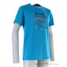 CMP T-Shirt Jungen Freizeitshirt-Türkis-140