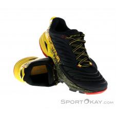 La Sportiva Akasha Herren Traillaufschuhe-Schwarz-44