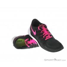 Nike Free 5.0 Damen Laufschuhe-Schwarz-6