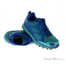 Scott Kinabalu Supertrac Damen Traillaufschuhe-Blau-7,5