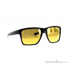 Oakley Sliver XL Matte Black Sonnenbrille-Schwarz-One Size