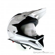 Airoh Fighters Color White Pearl Downhill Helm-Weiss-S
