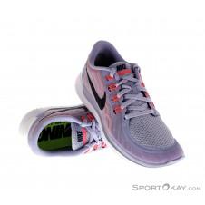 Nike Free 5.0 Damen Laufschuhe-Weiss-5