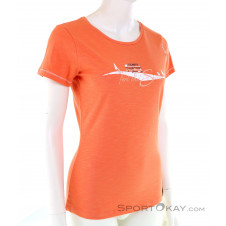 Chillaz Gandia Feel The Spirit Damen T-Shirt-Orange-XS