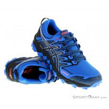 Asics Fujitrabuco 7 GTX Herren Traillaufschuhe Gore-Tex-Blau-8