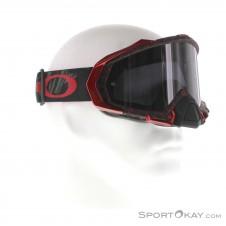 Oakley Mayhem Pro MX Reaper Blood Goggle Downhillbrille-Rot-One Size