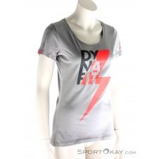 Dynafit Graphic Co Tee Damen T-Shirt-Grau-34
