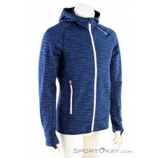 Ortovox Fleece Space Dyed Hoody Herren Tourensweater-Blau-S