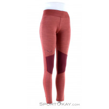 Salewa Pedroc Dry Damen Leggings-Rot-36