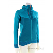 Salewa Pedroc PGD Damen Sweater-Blau-34