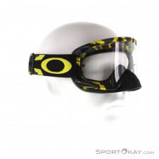 Oakley 02 Matte Goggle Downhillbrille-Grau-One Size