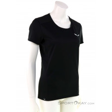 Salewa Sporty B 4 Dryton Damen T-Shirt-Schwarz-36
