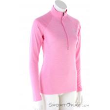 Under Armour Tech HZ Twist Damen Shirt-Pink-Rosa-S