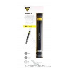 Topeak Ninja P Minipumpe-Schwarz-One Size