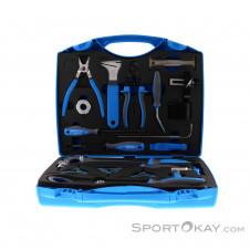 Unior Bike Werkzeugset im PVC Werkzeugkoffer-Blau-One Size